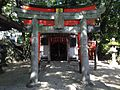 Uga Shrine in Sumiyoshi Shrine.JPG