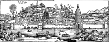 View of Ulm around 1493