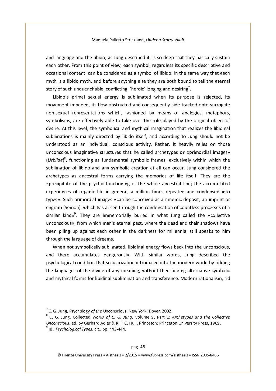Pageunder A Starry Vault Warburg Jung And The Renaissance Of