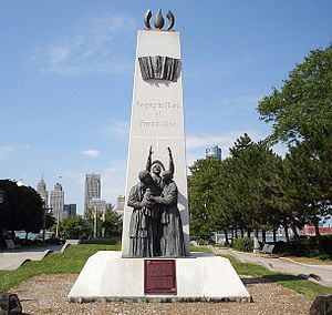 Windsor, Ontario - Underground Railroad Monument