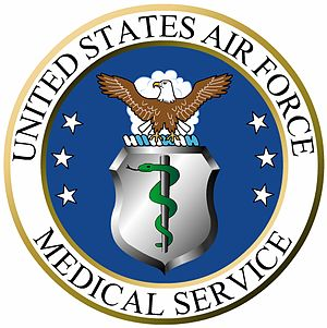Surgeon General of the United States Air Force - Image: United States Air Force Medical Service (seal)