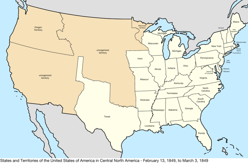 File:United States Central map 1849-02-13 to 1849-03-03.png