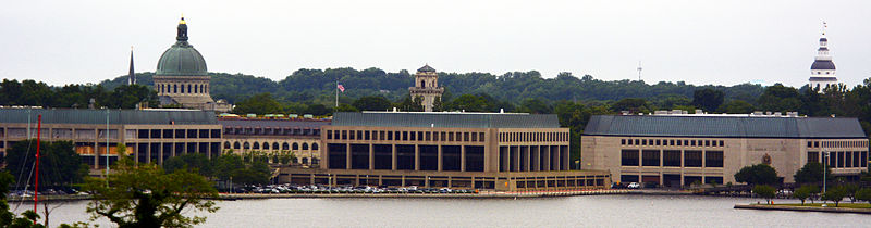 United States Naval Academy in Annapolis MD by D Ramey Logan.jpg