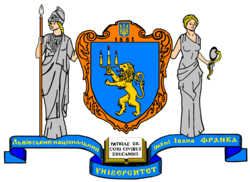 Universitas Leopoliensis Coat of Arms.png