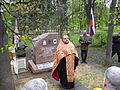 Unveiling of the monument to the nurses. Memorial park 06.JPG