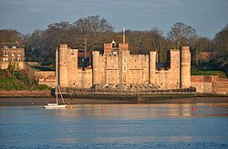 Upnor Castle, Kent riverside view.jpg