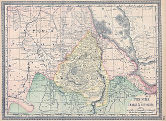 Upper Nubia - Upper Nubia and Abyssinia in 1891