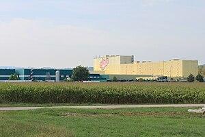 Aoste, Isère - The Aoste Ham Factory