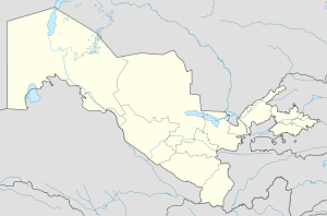 Guliston is located in Uzbekistan