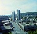 Városközpont a Karancs szállóból nézve. Fortepan 94114.jpg