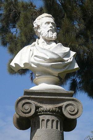 Víctor Balaguer i Cirera - Bust of Balaguer in the Parc de la Ciutadella, Barcelona