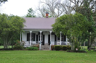 National Register of Historic Places listings in Pointe Coupee Parish, Louisiana - Image: VALMONT BERGERON HOUSE, POINTE COUPEE PARISH, LA