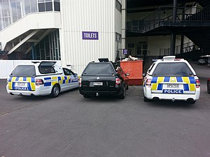 New Zealand Police - Holden Commodore VE/VF Evoke Utility Wagon currently being used by the New Zealand Police for Delta (Dog) Patrols