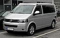 VW California Europe 2.0 TDI (T5, Facelift) – Frontansicht, 30. Juli 2011, Mettmann.jpg