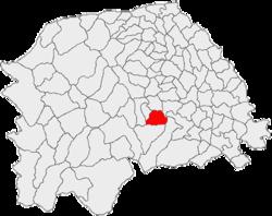 Vị trí của Valea Moldovei