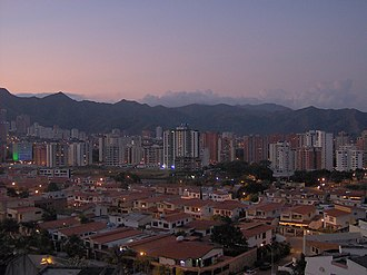 Valencia, Carabobo - Image: Valencia (Venezuela) Skyline