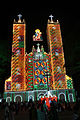 Vallarpadam Bascilica lighted up.jpg
