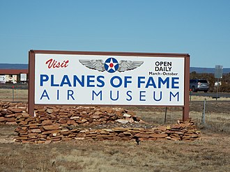 Valle, Arizona - Museum-Planes of Fame Air Museum