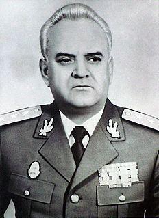 Vasile Milea Romanian general and politician
