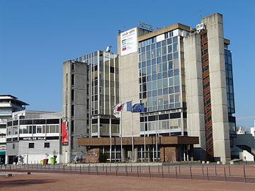 L'hôtel de ville de Vaulx-en-Velin