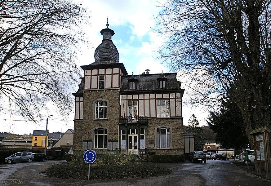 Vaux-sous-Chèvremont  (Belgium): Old Town Hall