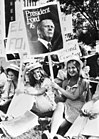 Verkiezingscampagnes in Verenigde Staten begonnen, aanhangers president Ford op , Bestanddeelnr 928-7710.jpg