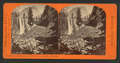 Vernal Fall and Cap of Liberty, Yosemite Valley, California, by Reilly, John James, 1839-1894.png