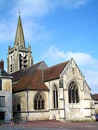 Verneuil-en-Halatte (60), l'église St-Honoré.jpg