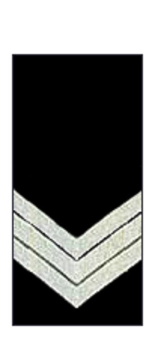 Sergeant - The insignia of an Australian police sergeant