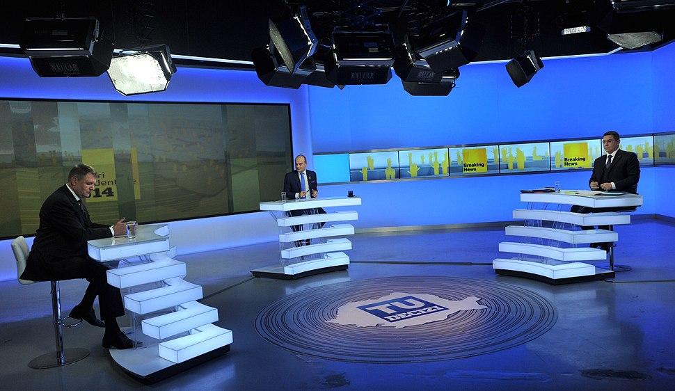 Victor Ponta la dezbatere Realitatea TV - 11.11 (1) (15153345483)