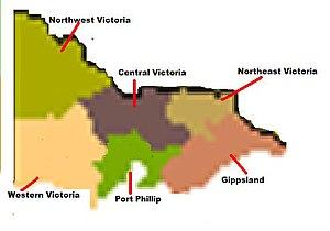 Victorian wine - Victoria's wine zones.