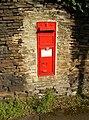 Victorian postbox, Penistone Road - Riley Lane, Kirkburton - geograph.org.uk - 393869.jpg