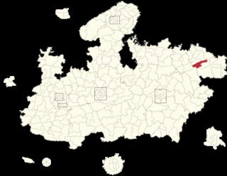 Churhat (Vidhan Sabha constituency) Constituency of the Madhya Pradesh legislative assembly in India