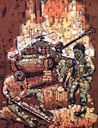 VietnamCombatArtTankbyStephenHRandallCATVII1968