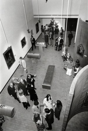 Blaffer Art Museum - View of the Sarah Campbell Blaffer Gallery, March 1973