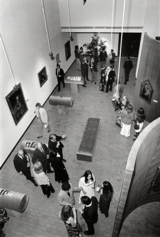 Blaffer Art Museum - View of the Sarah Campbell Blaffer Gallery during its founding year, March 1973