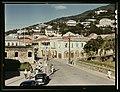 View down the main street from the Grand Hotel, Charlotte Amalie, St. Thomas Island, Virgin Islands LCCN2017877910.jpg
