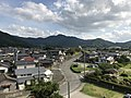 View from Asahimori Shrine near Fukuyoshi Shiosai Park (southwest).jpg