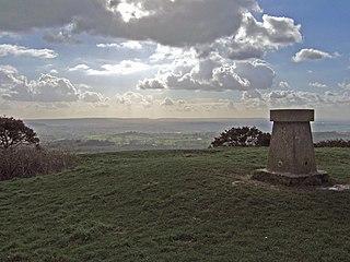 Melbury Hill mountain in United Kingdom
