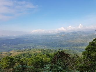 Bukidnon - View from Musuan Peak of the Pulangi River valley of central Bukidnon. The foothills of the Kalatungan Mountain Range is visible on the upper right.