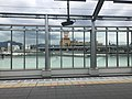 View of platform of Kagoshima Main Line from platform of Chikuho Main Line of Orio Station.jpg