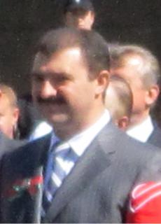 Viktor Lukashenko Belarusian politician