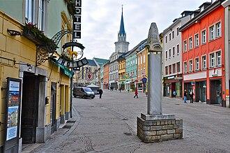 Villach - Main square