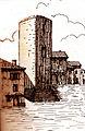 Villars tour seigneuriale démolie au début du XXe siècle.jpg