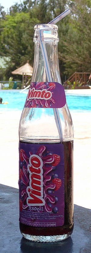 Vimto - A bottled version