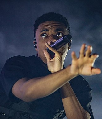 Vince Staples - Staples performing in 2018