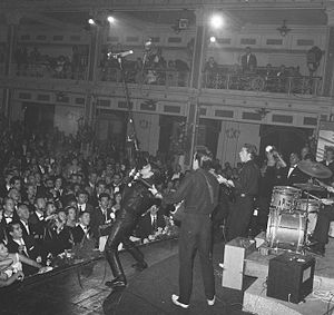 Vince Taylor - Vince Taylor and the Playboys  (Kurhaus, Netherlands, 1962)