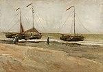 Vincent van Gogh - Beach at Scheveningen in calm weather (1882).jpg
