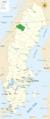 Vindelfjallen Nature Reserve in map of Sweden.png