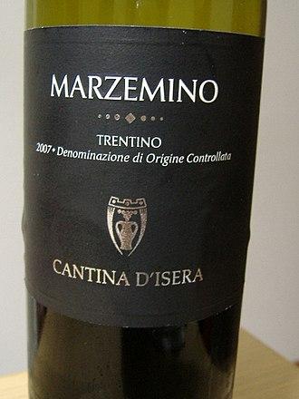 Marzemino - A varietal Marzemino from Trentino.